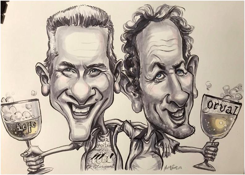 Caricature capitaines